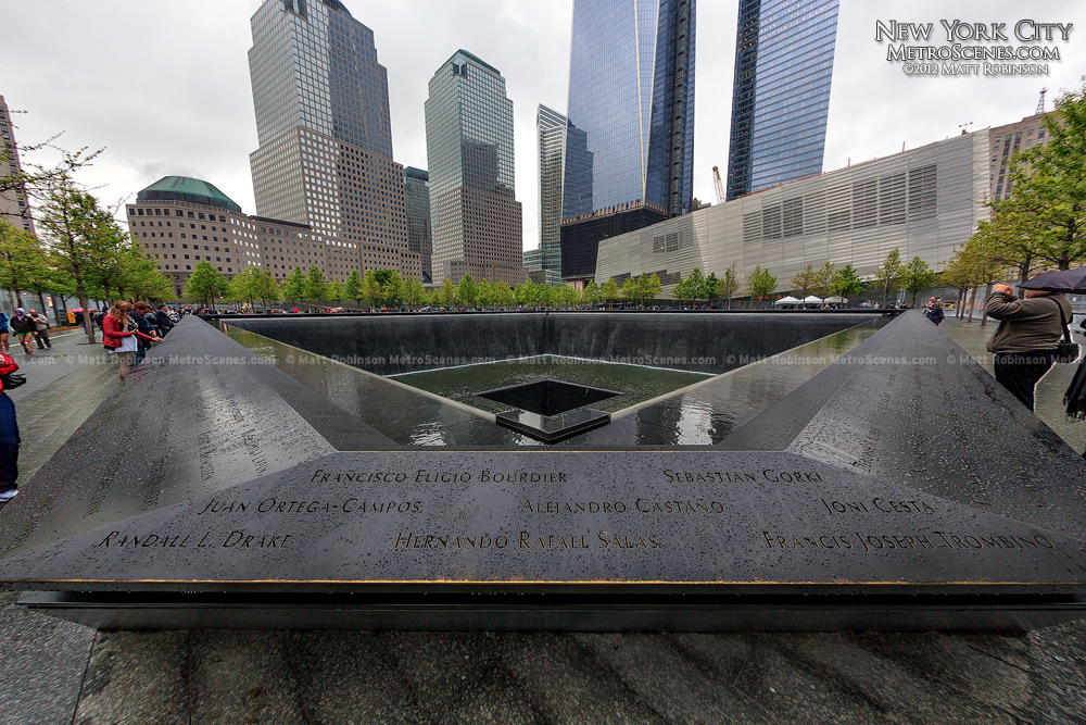 The 9/11 Memorial in New York City