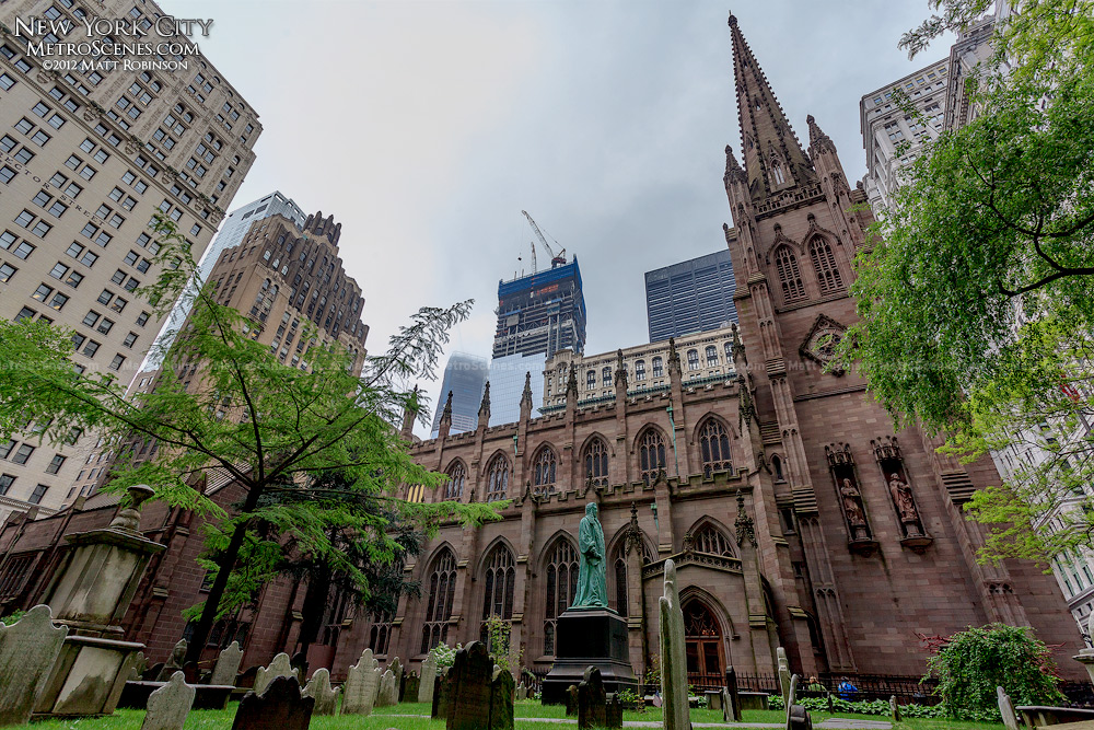 Trinity Church in Lower Manhattan