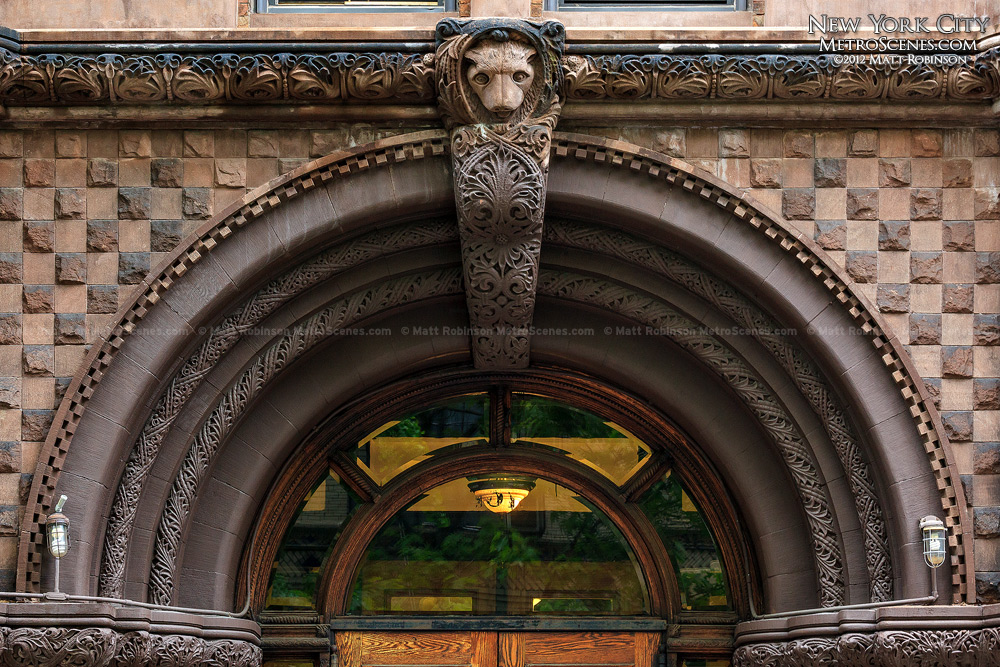 Building Entrance on the Upper West Side