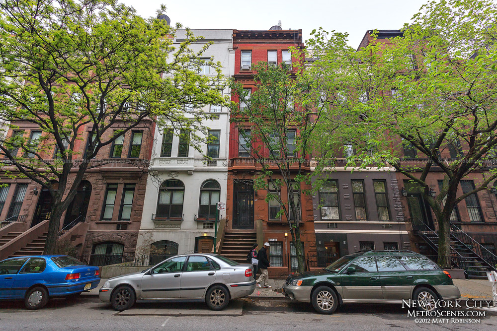 Upper West Side row houses on 85th Street