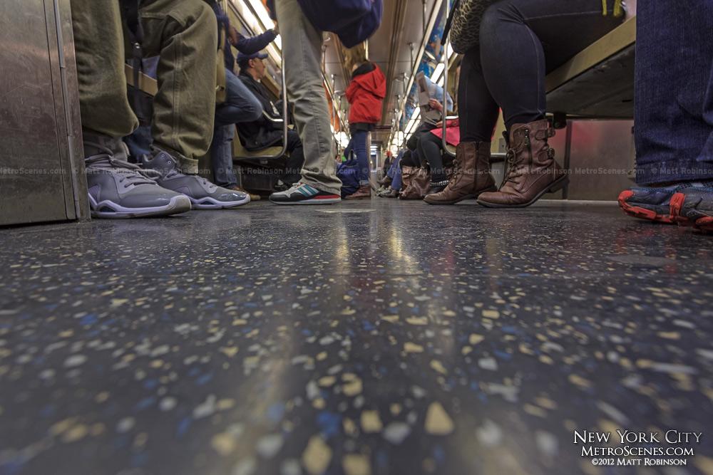 NYC Subway shoes