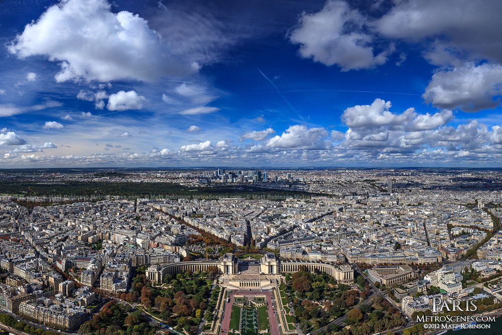 Blue Skies over Paris