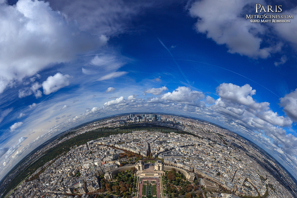 On top of the world in Paris, France