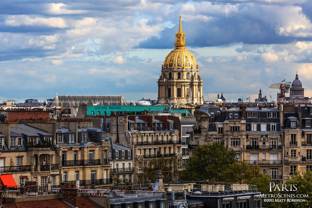 Golden dome of Les Invalides