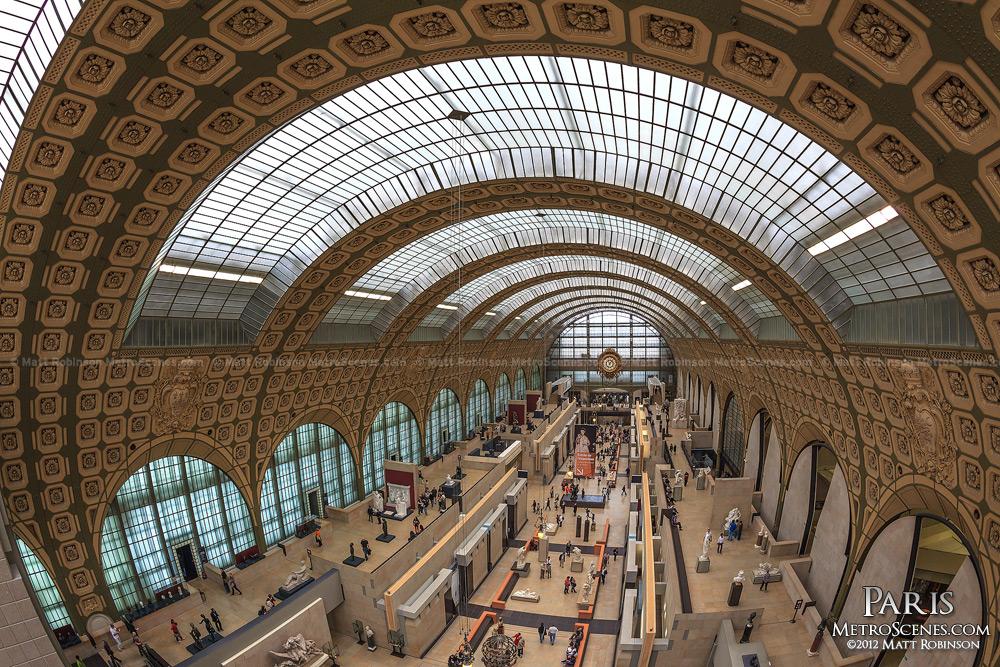 Fisheye of Musée d'Orsay