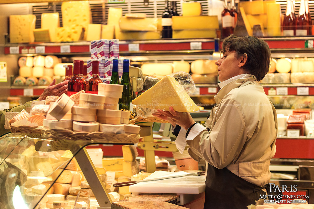 Rue de Cler cheese shop