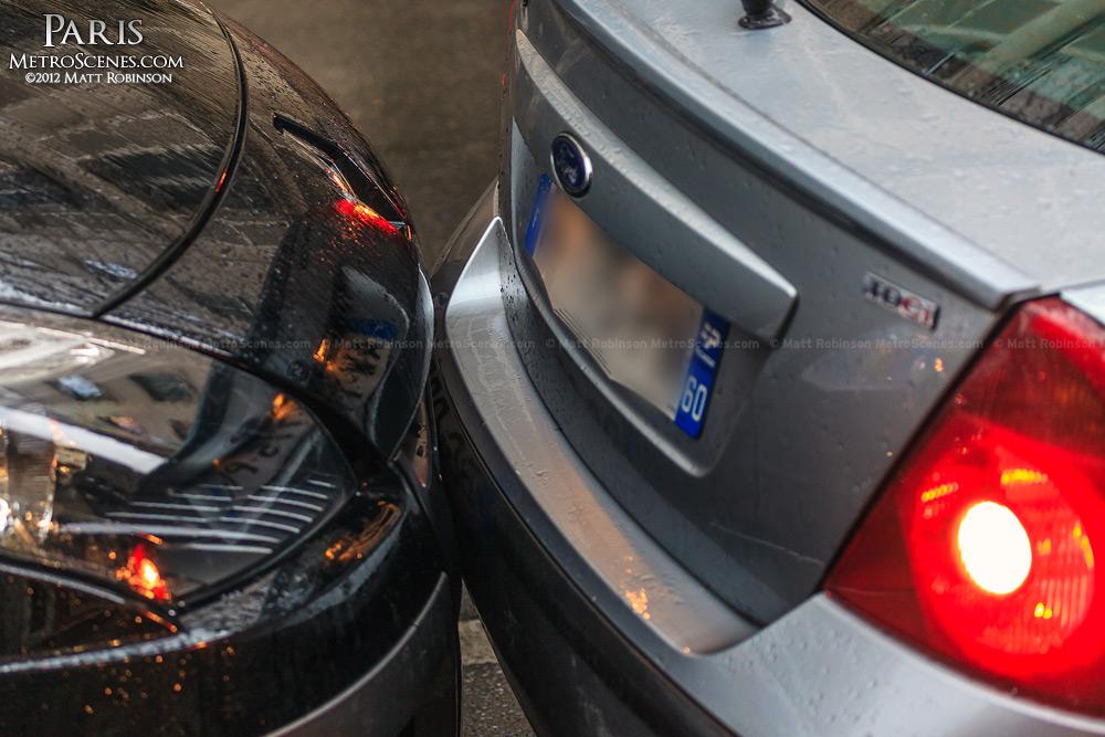 Bumper cars in Paris