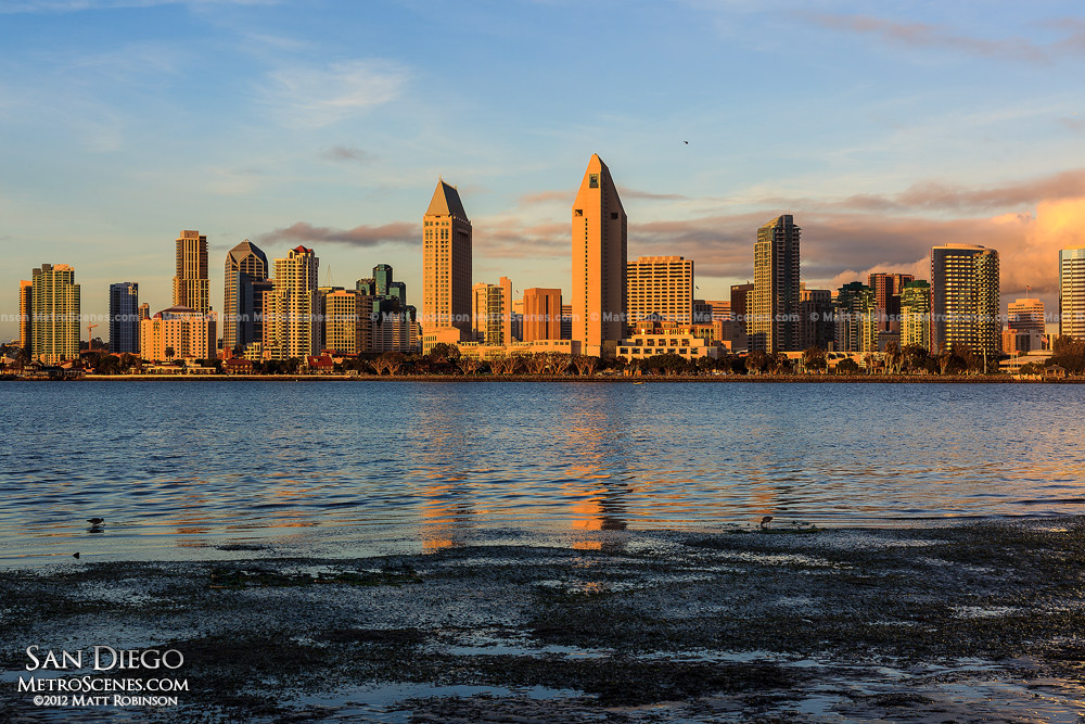 San Diego Skyline from Coronado