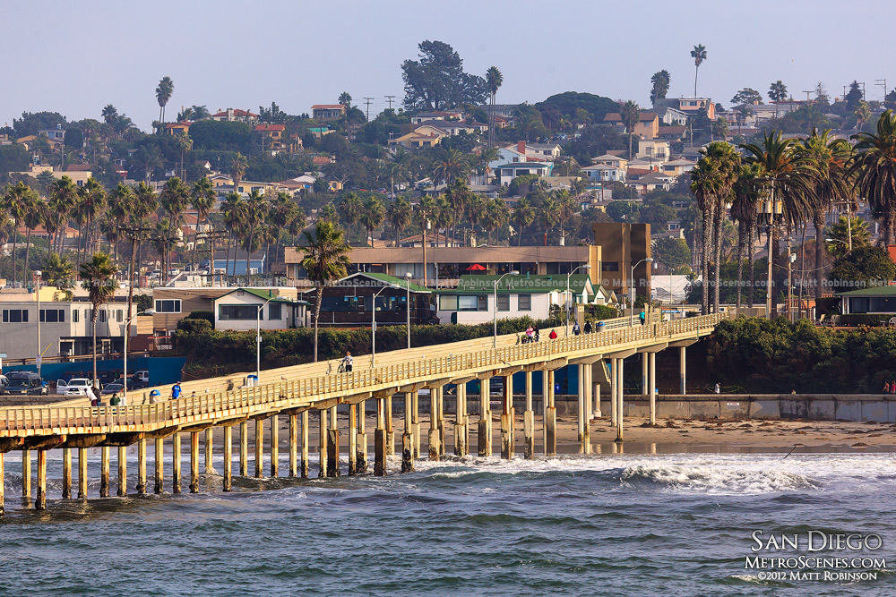 Ocean Beach Pier in San Diego