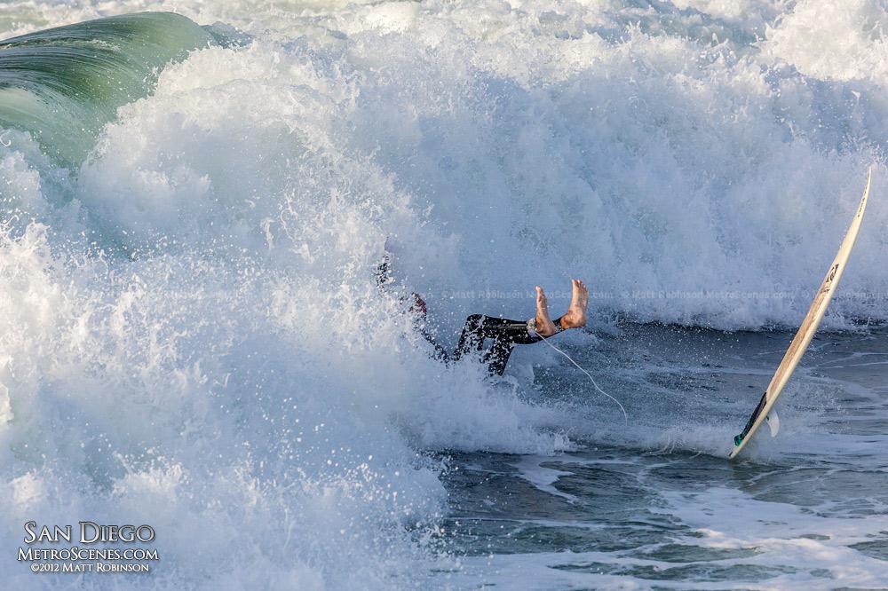 San Diego Ocean Beach Surfer
