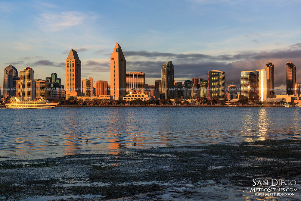 Downtown San Diego Skyline from Coronado