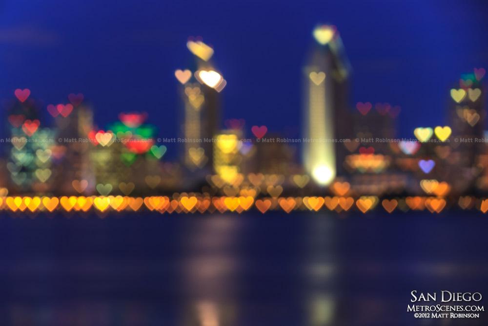 San Diego Skyline Hearts