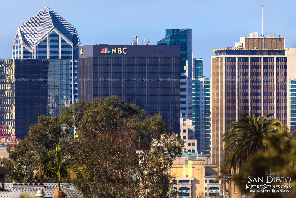 One America Plaza and NBC Building in San Diego