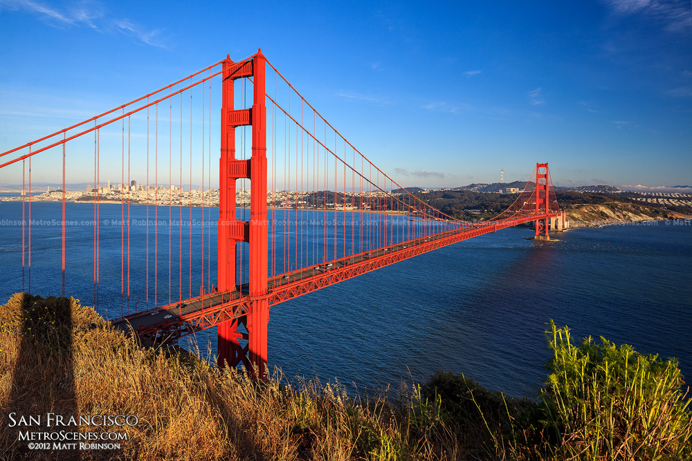 Golden Gate Bridge from Hendrik Point