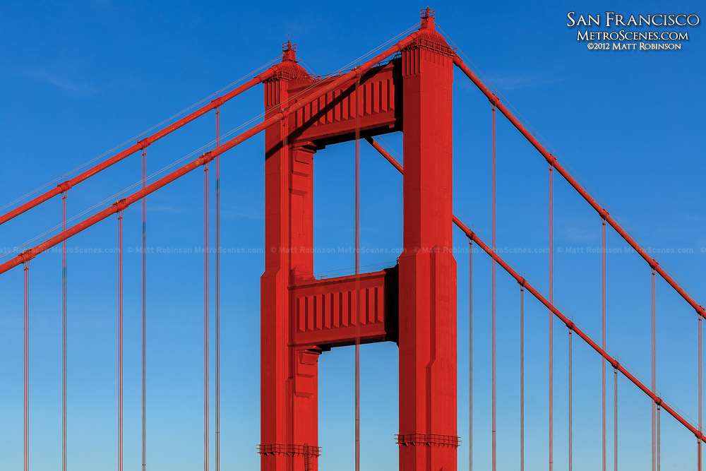 Tower of the Golden Gate Bridge