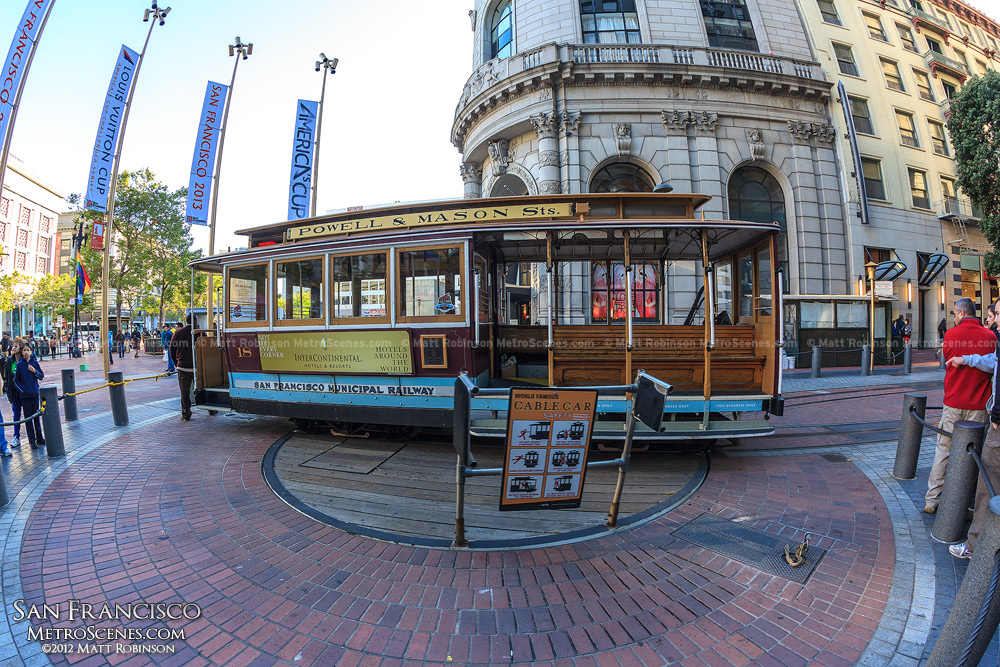 Powell Street Cable Car Turnaround