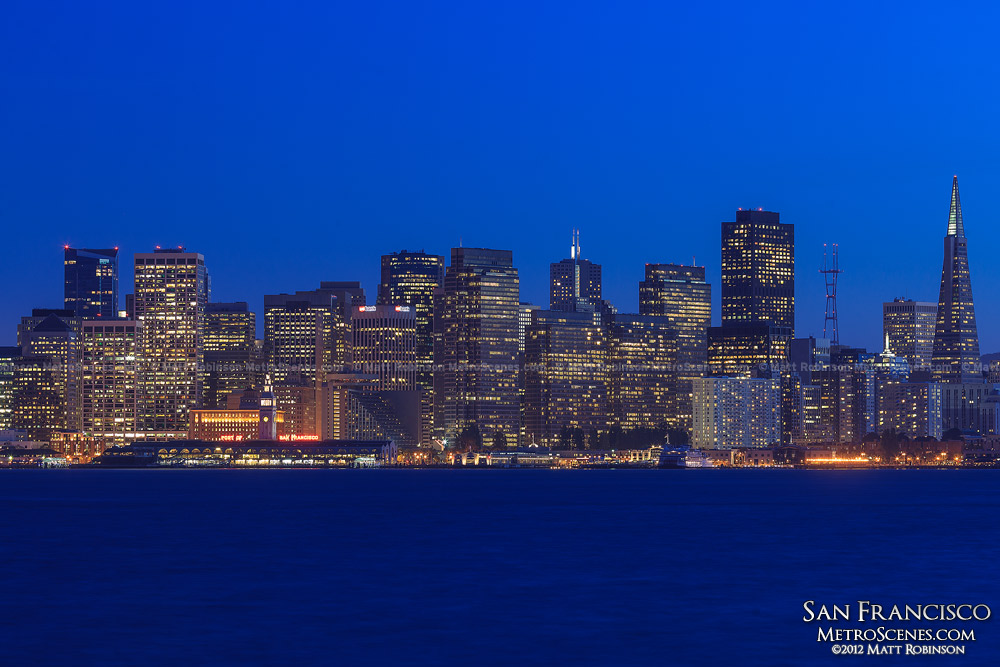 San Francisco Skyline at night