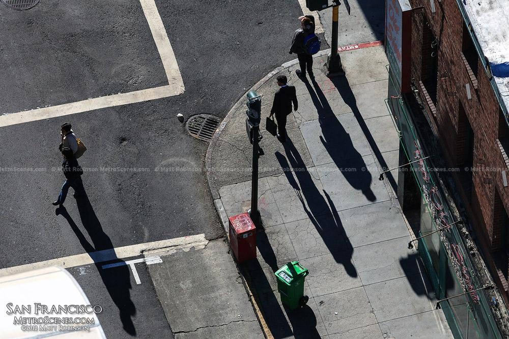 Pedestrian shadows
