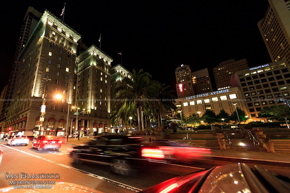 Union Square at night