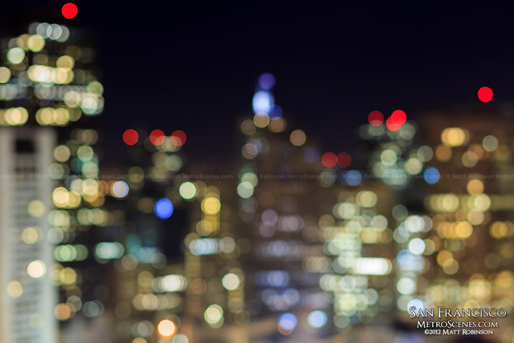 San Francisco bokeh