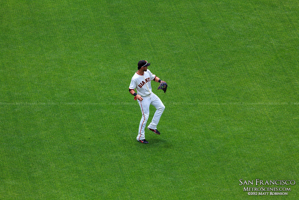 Giants' Angel Pagan