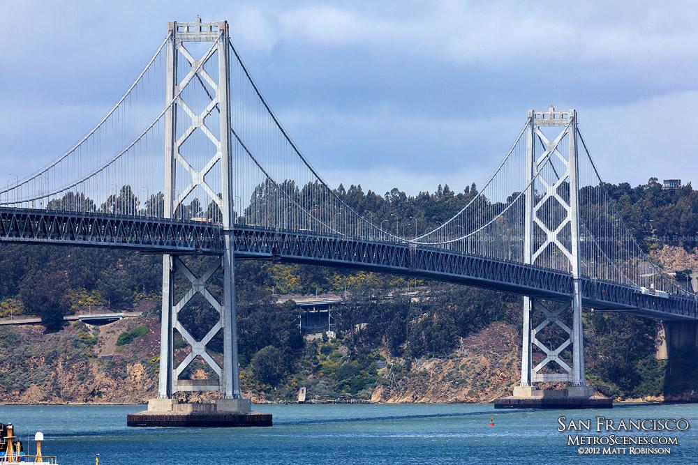 Bay Bridge from AT&T Park