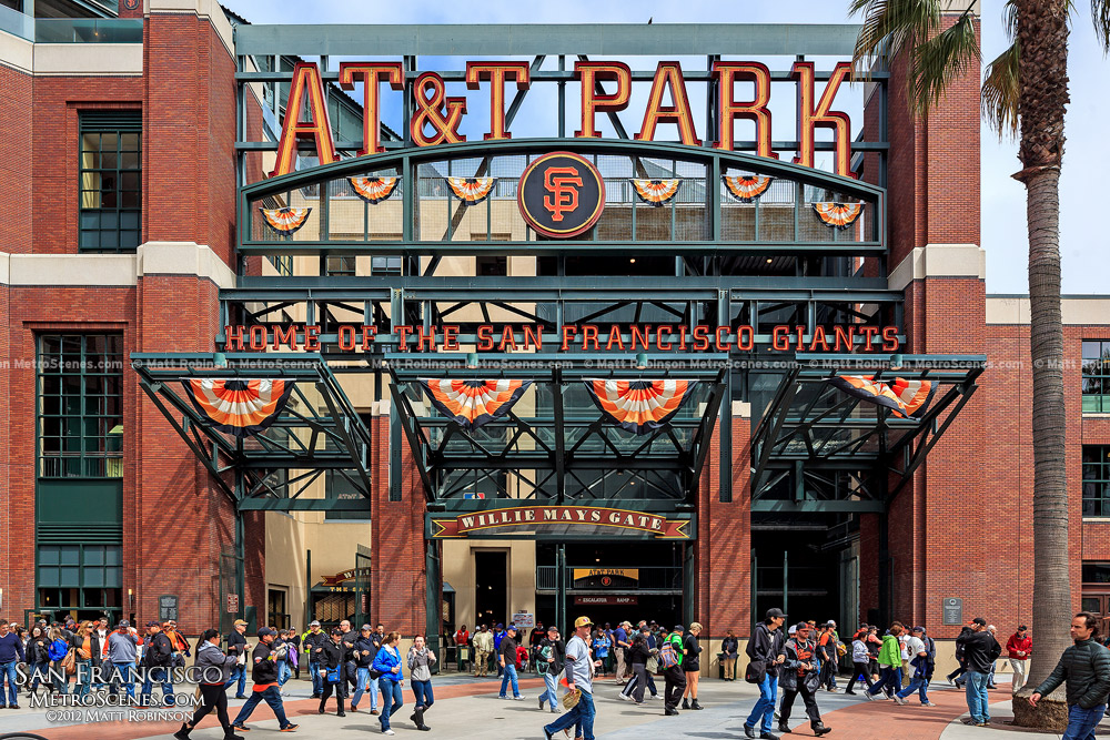 Willie Mays Gate at AT&T Park