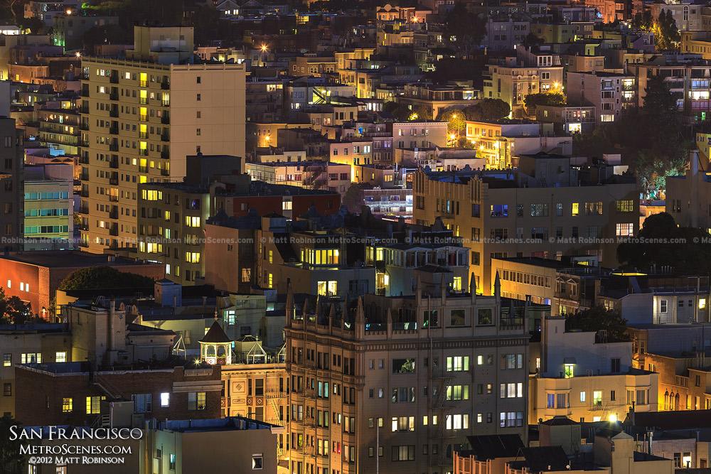 Dense San Francisco