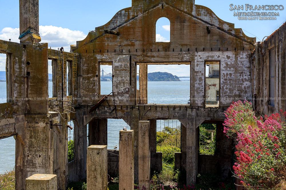 Ruins on Alcatraz Island