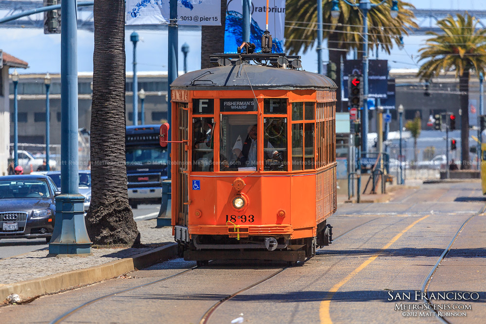 F Train 1893 Trolley, San Francisco