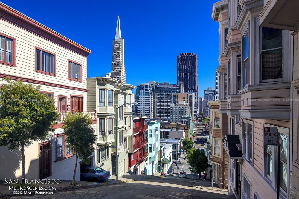 Transamerica Pyramid from Telegraph Hill