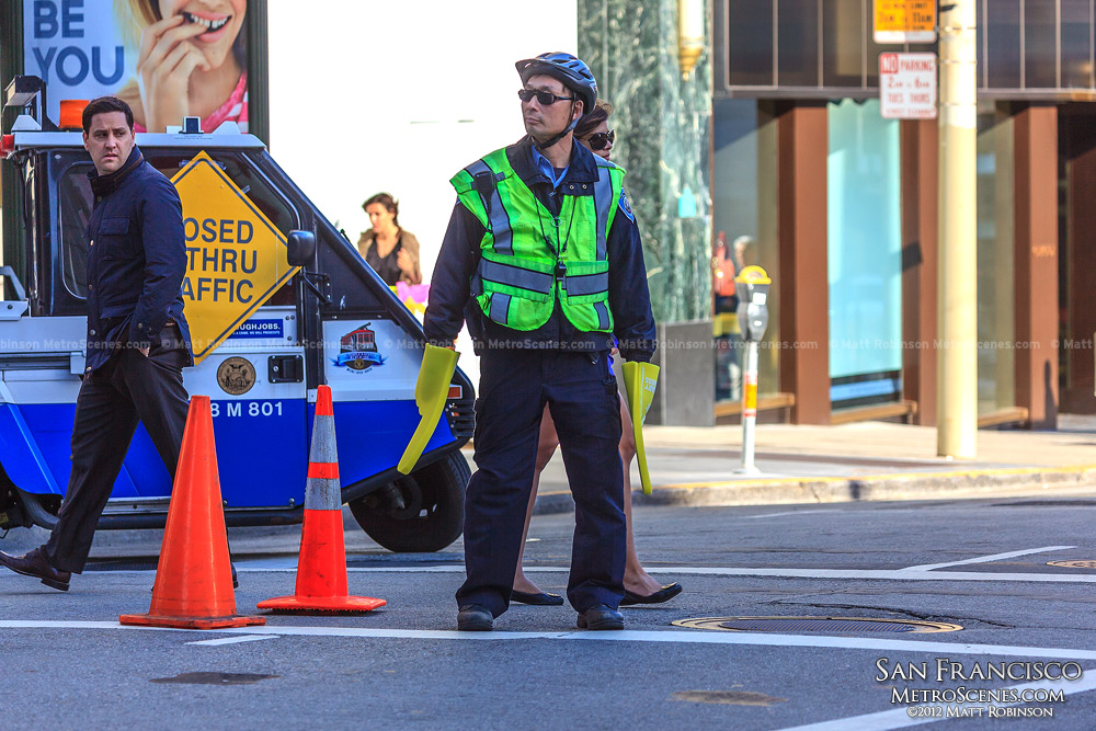 San Francisco traffic cop