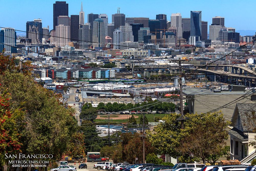 Potrero Hill view of San Francisco