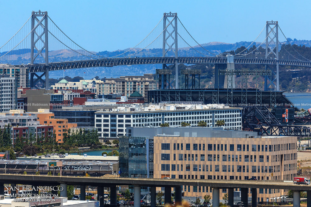 Bay Bridge from Potrero Hill