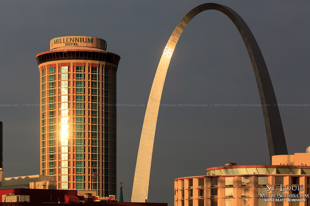 St. Louis Millennium Hotel and Gateway Arch