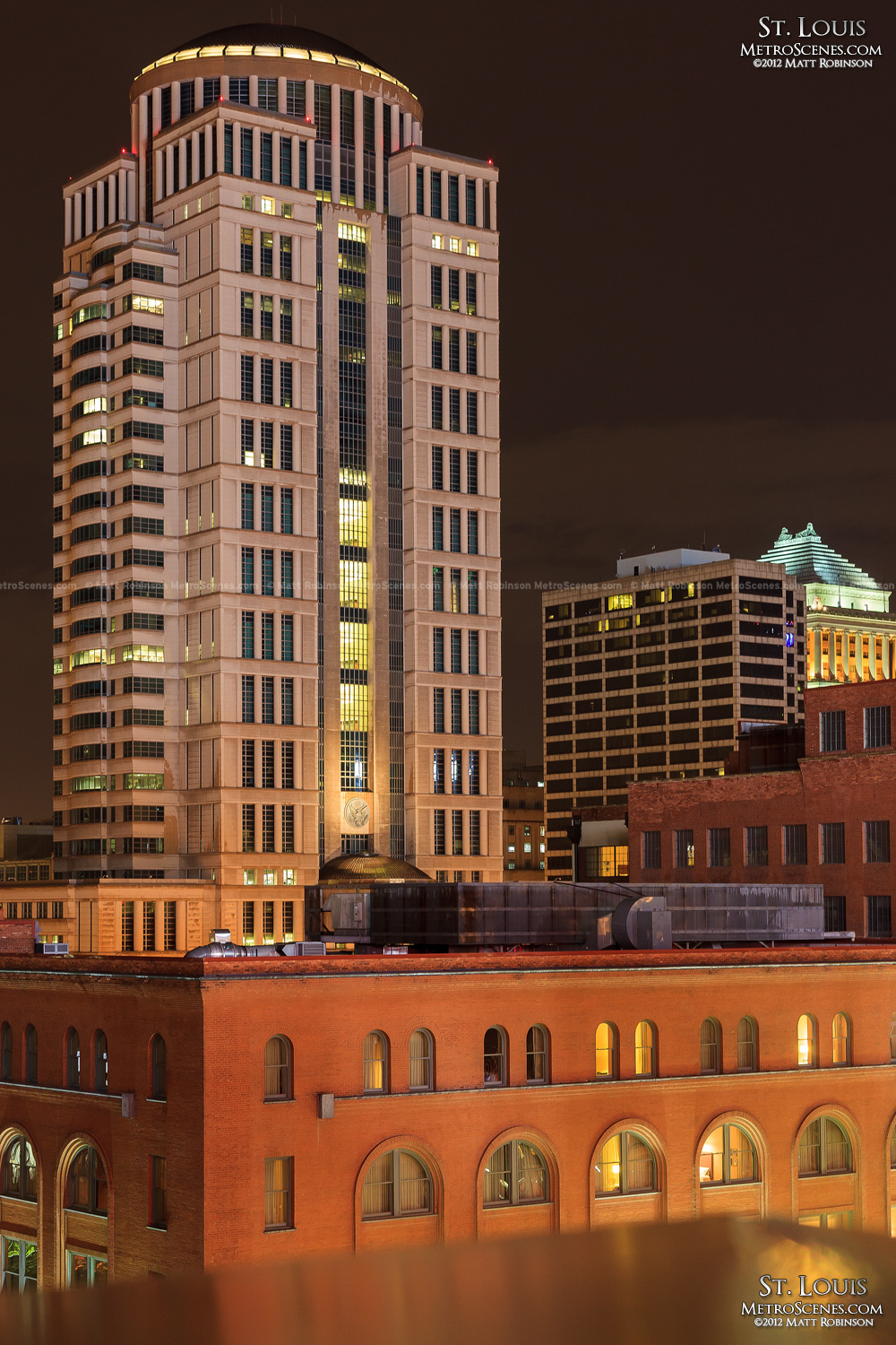 Eagleton Federal Courthouse from Busch Stadium