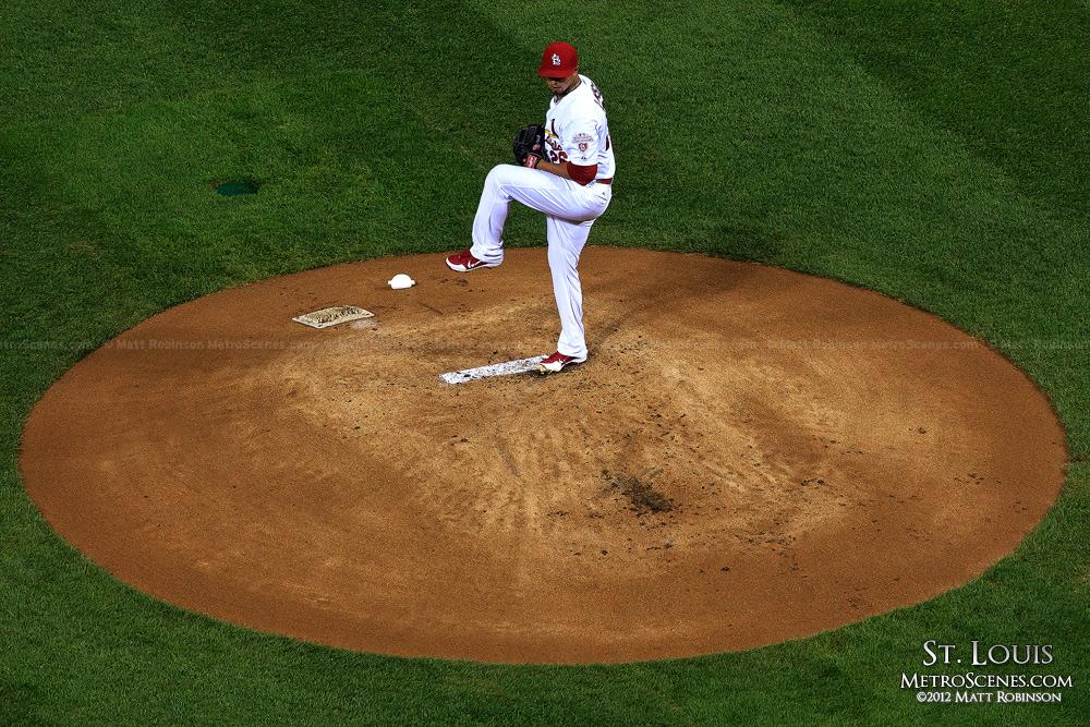 Kyle Lohse on the mound