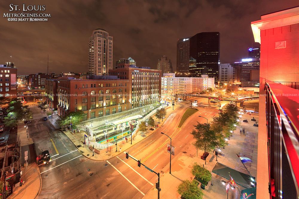 Downtown Saint Louis from Busch Stadium