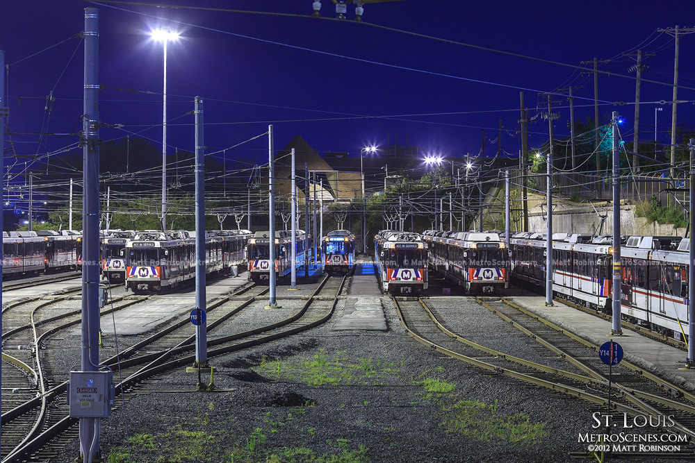 St. Louis Metro light rail yard