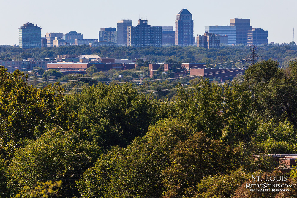 Clayton, Missouri Skyline