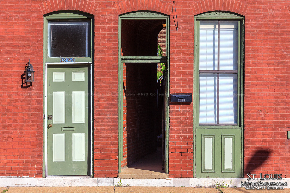 Two doors and a window, St. Louis
