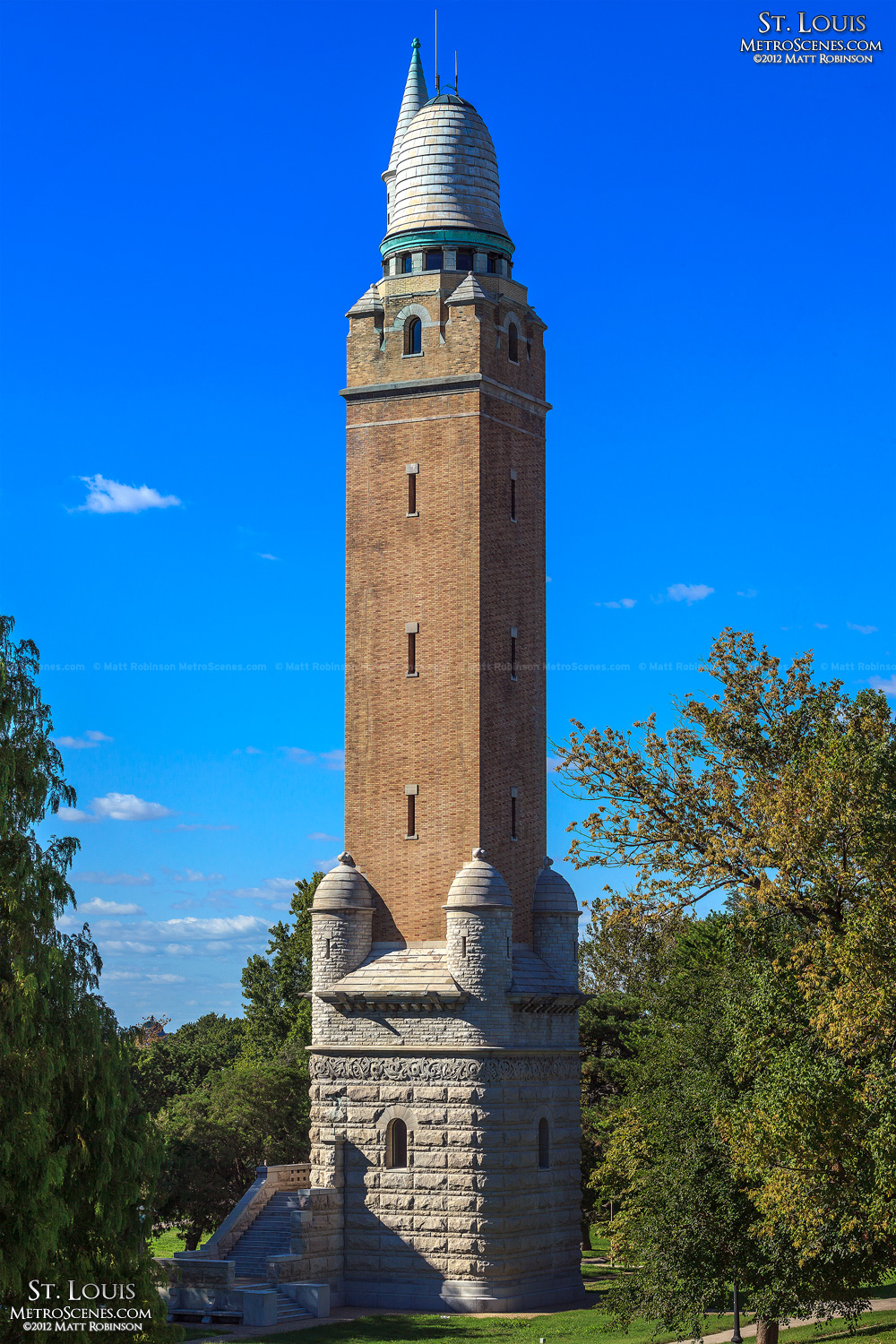 Compton Hill Water Tower, STL