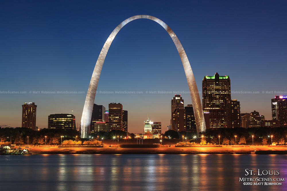 Goodnight from Saint Louis