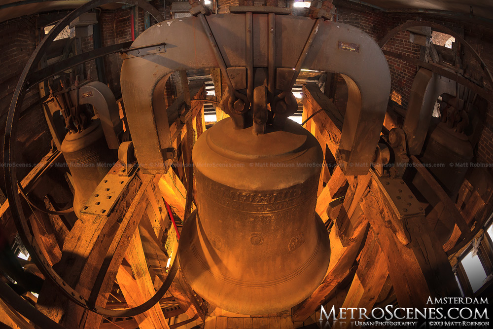 Large bell in Westerkerk tower