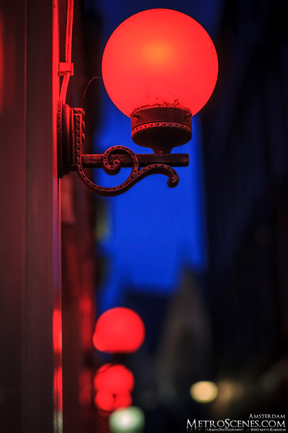 Red latern in Red Light District