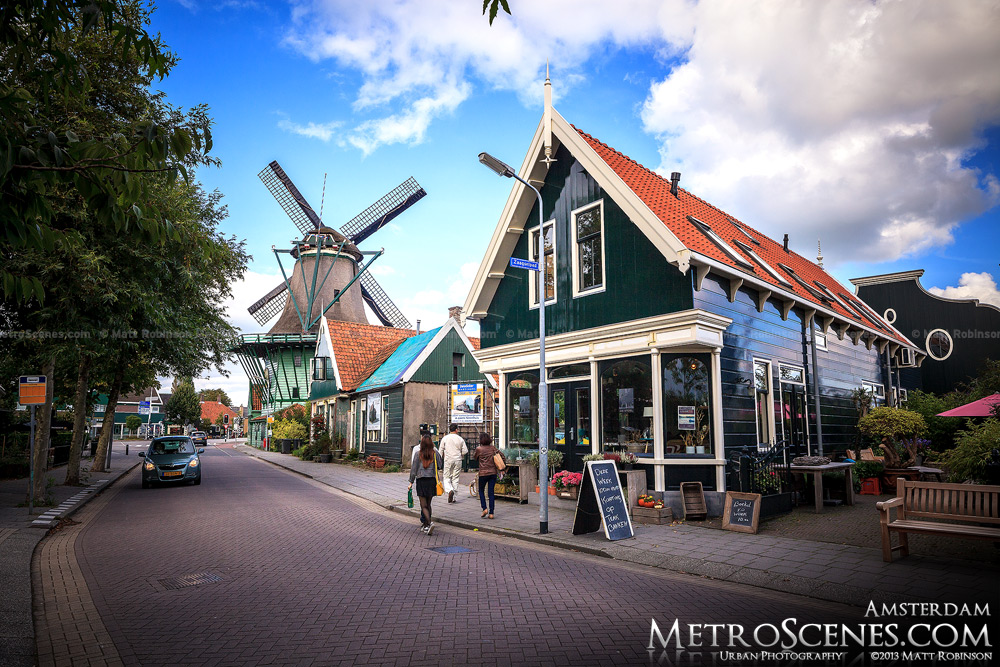 Zaanse Schans Village outside of Amsterdam