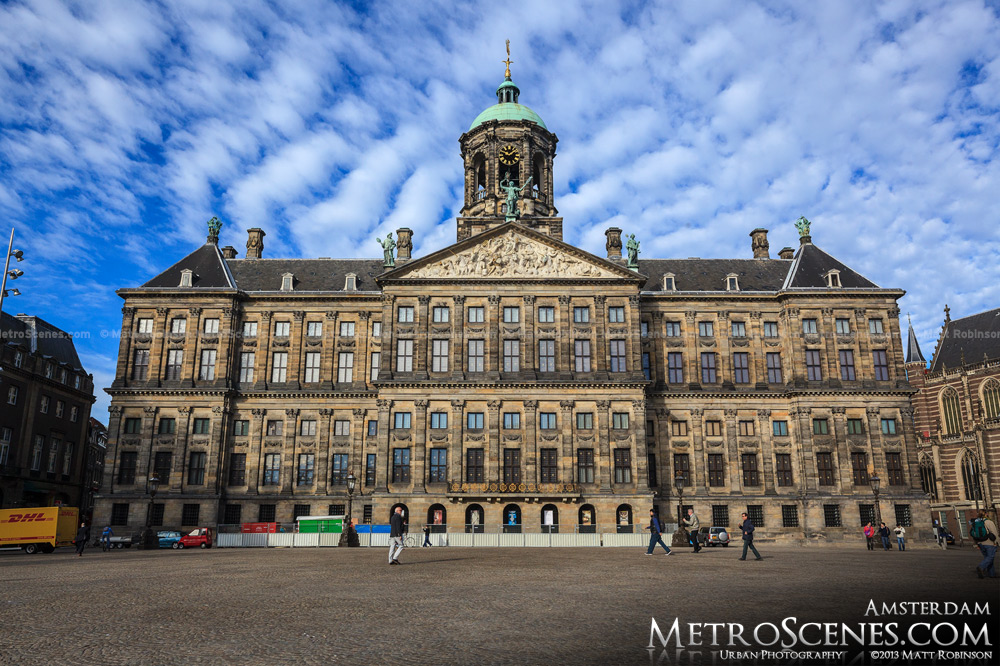 Royal Palace from Dam Square