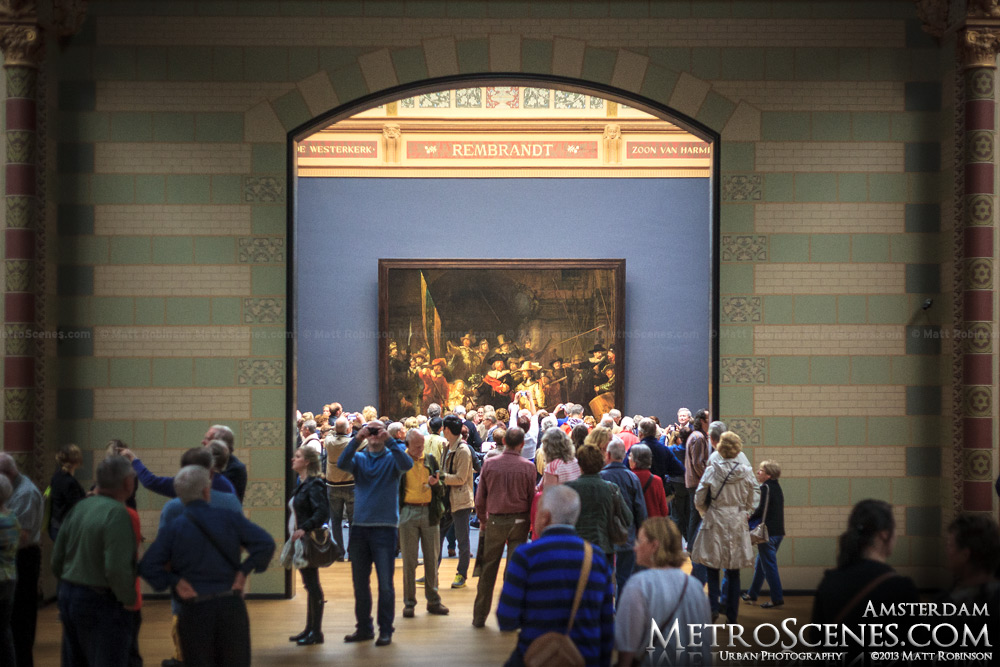 Rembrandt's The Night Watch at Rijksmuseum