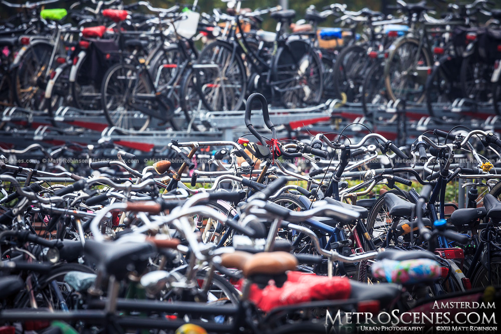 Bike city Amsterdam