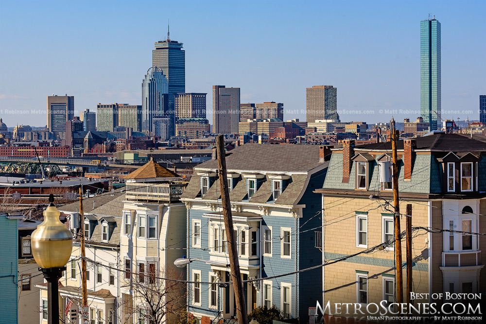 South Boston with Skyline